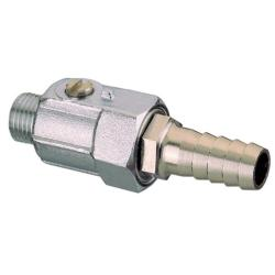 """Cock drain M1/4"""" Brass Art1135<br/>screw- driver operated with hose<br/>connector for Dia. 12 mm hose"""