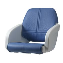 "Seat helm ""Florida"" moulded seat<br/>White without cushions<br/>"