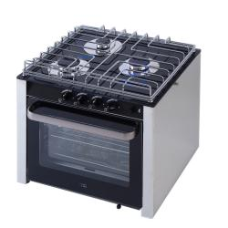 Gas cookers burners with oven