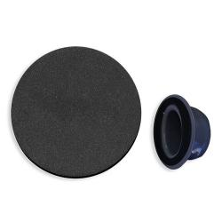 Polish pad Black Dia. 150mm with<br/>velcro back<br/>