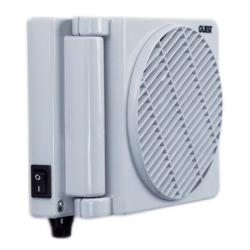 Fan fold away 12V 0.8A rotating<br/>louver wall / ceiling/ dash mount<br/>(includes installation hardware)
