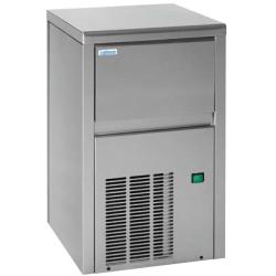 """Icemaker 18 kg / day """"clear"""" inox<br/>230V 50Hz air ventilated grey door<br/>without frame spray type"""