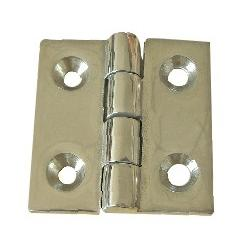 "Hinge 1-1/2"" x 1-1/2"" casted SS316"