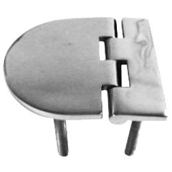 Hinge 72x65 mm 48 mm stud casted<br/>SS316<br/>