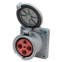Shore power receptacle M4100R12 100<br/>A 125/250V 4 wire 3 pole<br/>(suits 08.13.0102)