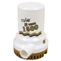 Pump bilge 1500 Gph 12V Gold<br/>series non automatic rule series<br/>with 5 years warranty