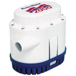 Pump bilge 2000 Gph 12V<br/>automated rule-mate series<br/>
